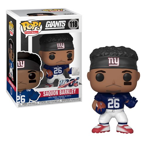 NFL Giants Saquon Barkley Pop! Vinyl Figure