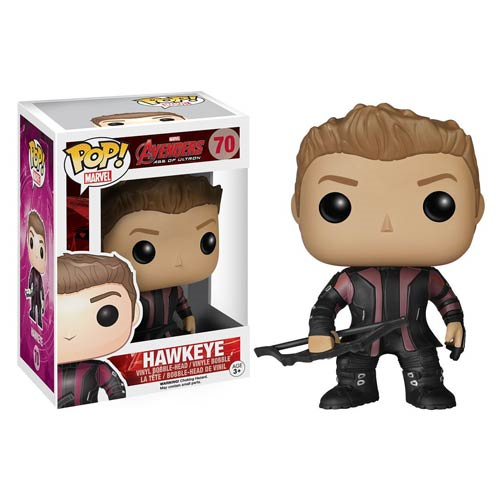 Avengers Age of Ultron Hawkeye Pop! Vinyl Bobble Head Figure