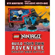 LEGO Ninjago Build Your Own Adventure Greatest Ninja Battles Hardcover Book