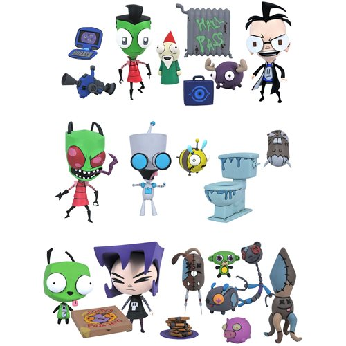 Invader Zim Series 1 Deluxe Action Figure Set
