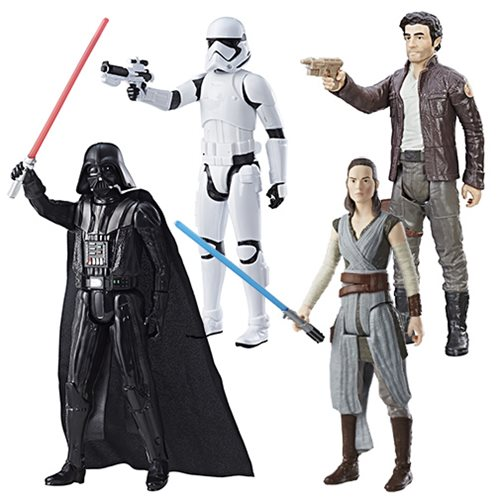 Star Wars: The Last Jedi Hero Series 12-Inch Action Figures Wave 2 Case