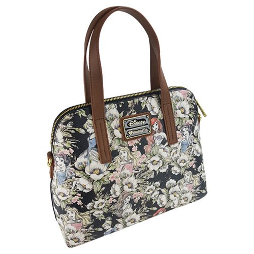 Disney Princesses Floral Print Purse