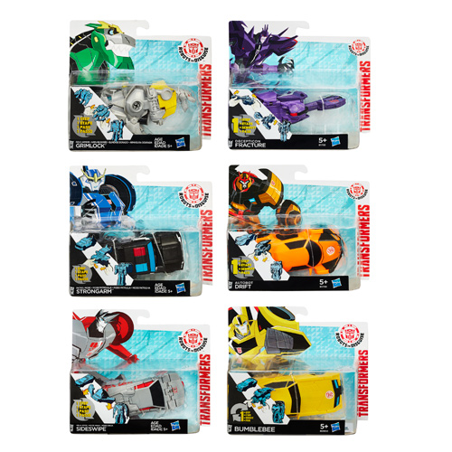 Transformers Robots in Disguise One-Step Changers Wave 5