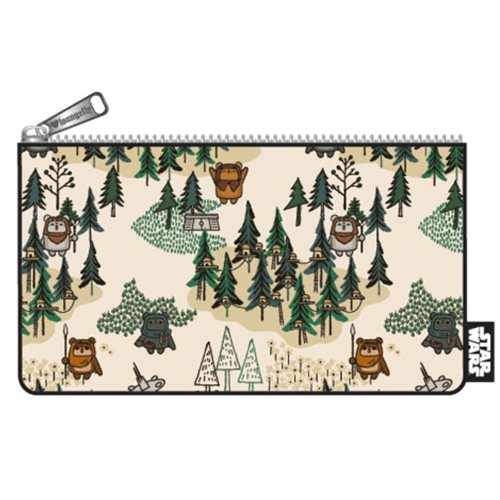 Star Wars Ewok Forest Print Pencil Case