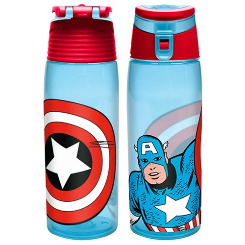Captain America 25 oz. Tritan Water Bottle