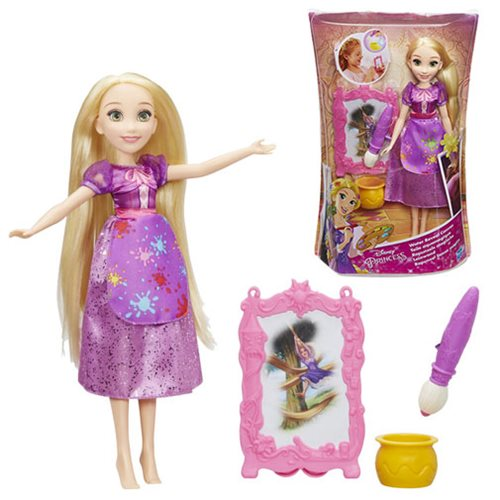 Disney Princess Rapunzel's Water Reveal Canvas Doll