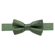 Star Wars Embroidered Yoda Micro Dot Boys Silk Bowtie