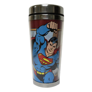 Superman DC Comics 16 oz. Travel Mug, Not Mint
