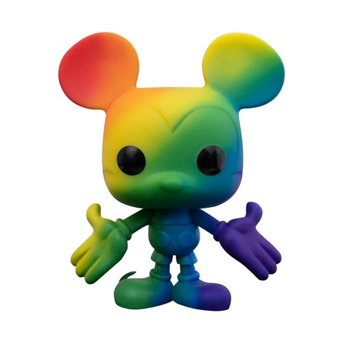 Mickey Mouse Pride 2021 Rainbow Pop! Vinyl Figure