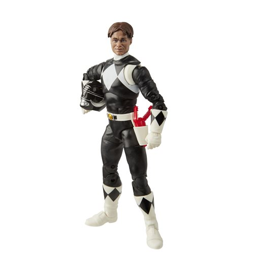 Power Rangers Lightning Collection Mighty Morphin Black Ranger 6-Inch Action Figure