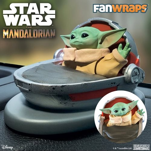 Star Wars: The Mandalorian The Child Solar Powered Dashboard Waver