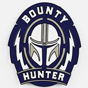 Star Wars: The Mandalorian Bounty Hunter Lapel Pin