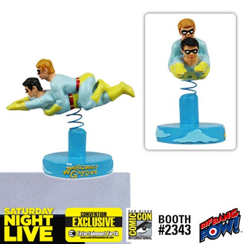Saturday Night Live The Ambiguously Gay Duo Ace and Gary Monitor Mate Bobble Head - Convention Exclusive