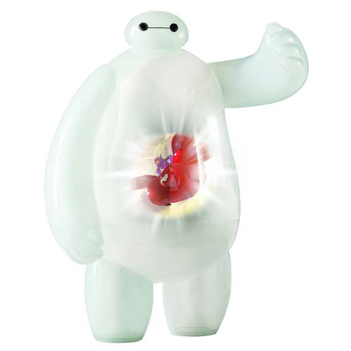Big Hero 6 Baymax Projection Talking Action Figure, Not Mint