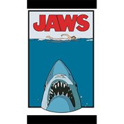 Jaws Poster Enamel Pin