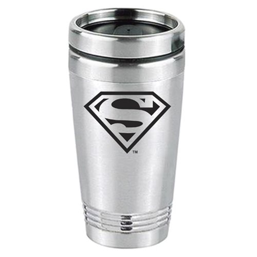 Superman Logo Stainless Steel Tumbler