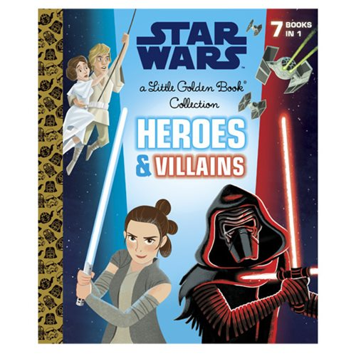 Star Wars Heroes and Villains Little Golden Book Collection