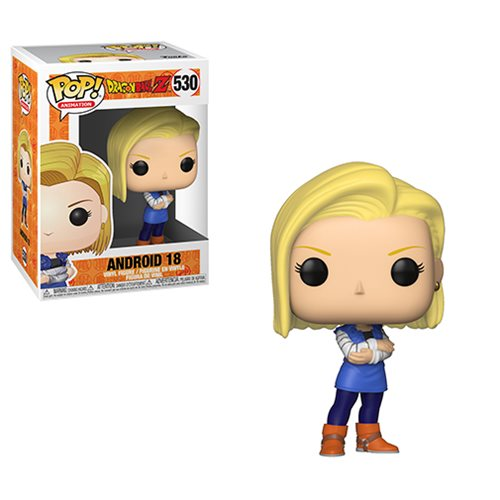 Dragon Ball Z Android 18 Pop! Vinyl Figure #530