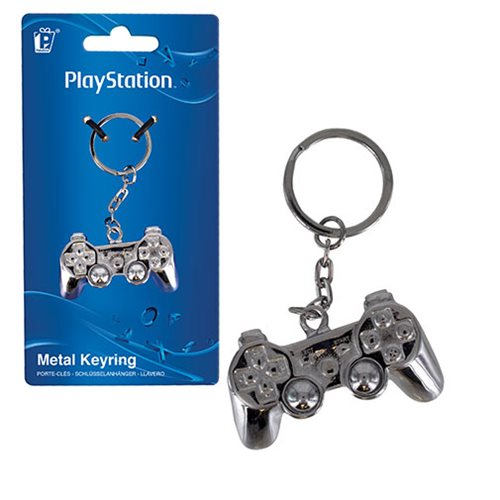 PlayStation 3D Metal Key Chain