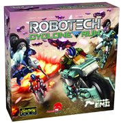 Robotech Cyclone Run Dice and Card Game