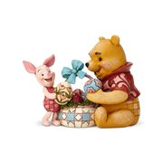 Disney Traditions Winnie the Pooh Pooh and Piglet Easter Spring Surprise Statue by Jim Shore