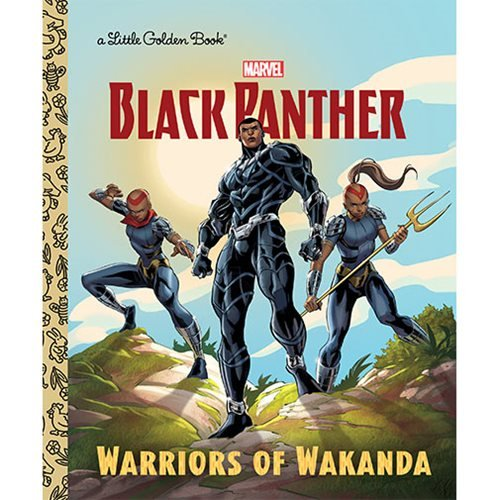Marvel: Black Panther Warriors of Wakanda Little Golden Book