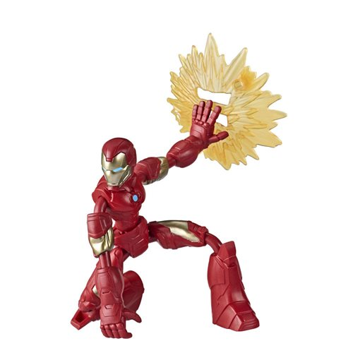 Avengers Bend and Flex Iron Man Action Figure