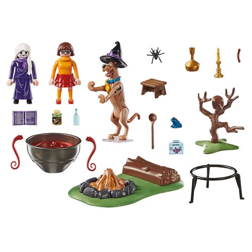 Playmobil 70366 Scooby-Doo! Adventure in the Witch`s Cauldron
