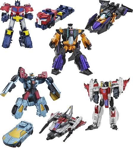 Transformers Legends of Cybertron Wave 1 Set