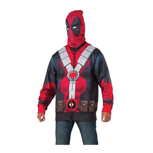 Deadpool Hooded Costume