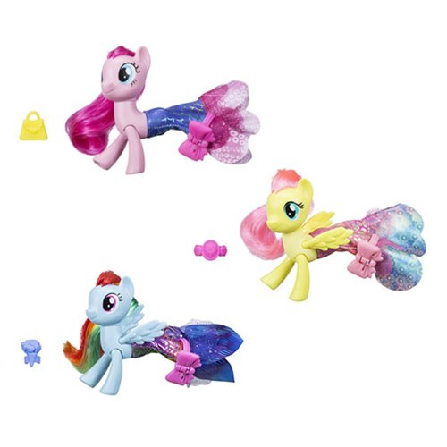 My Little Pony The Movie Land and Sea Ponies Wave 1 Case