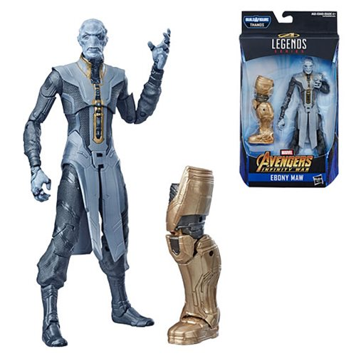 Avengers Marvel Legends 6-Inch Endgame Ebony Maw Action Figure, Not Mint