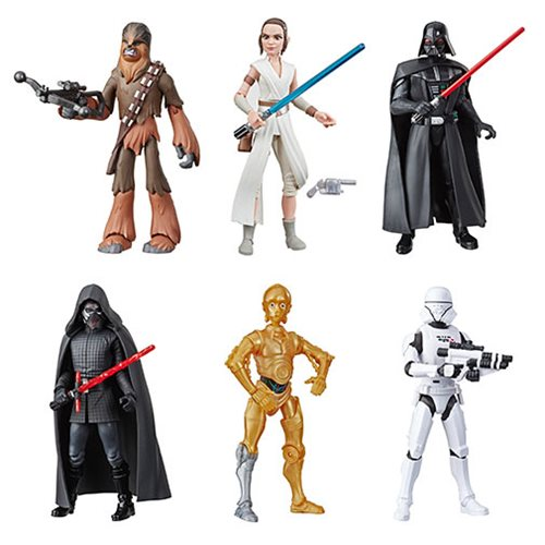 Star Wars Galaxy of Adventures 5-Inch Action Figures Wave 1