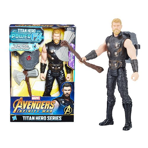 Avengers: Infinity War Titan Hero Power FX Thor 12-Inch Action Figure