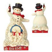Coca-Cola Snowman Polar Refreshment Statue by Jim Shore