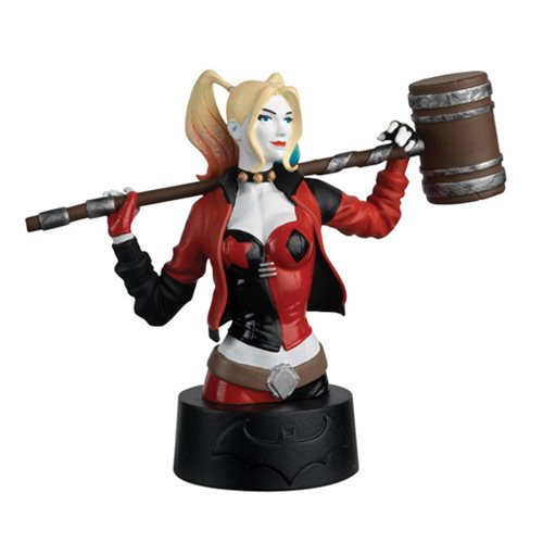 Batman Universe Bust Collection Harley Quinn Bust with Magazine #3