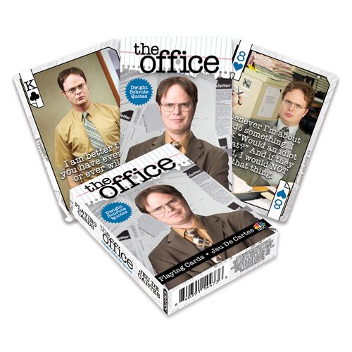 The Office Dwight Scrute Quotes Playing Cards
