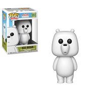 We Bare Bears Ice Bear Pop! Vinyl Figure #551, Not Mint
