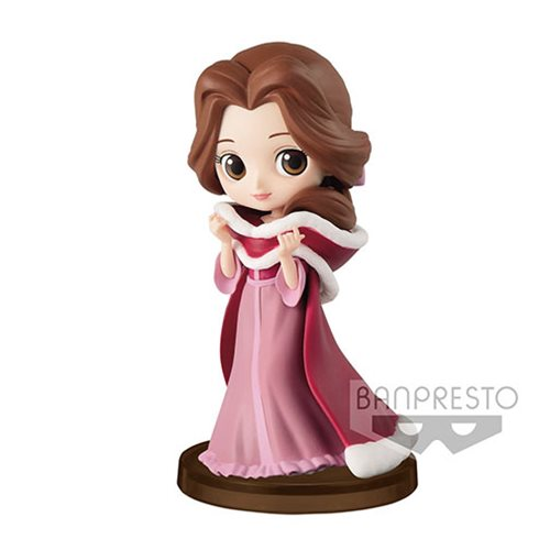 Beauty and the Beast Winter Belle Q Posket Petit Statue