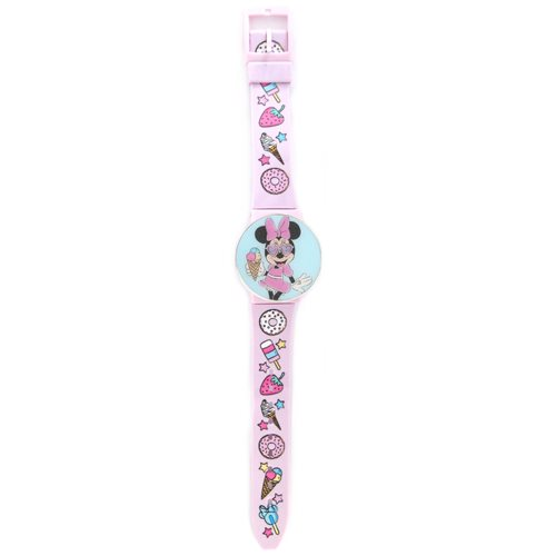Minnie Mouse Snack Print Watch