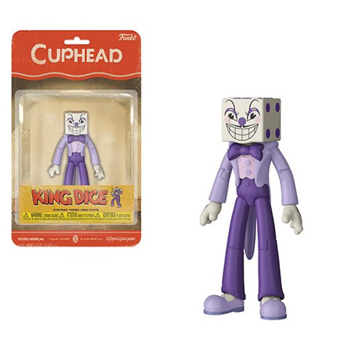 Cuphead King Dice Action Figure