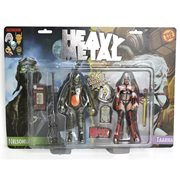 Heavy Metal 300th Issue Commemorative Taarna and Nelson 5-Inch FigBiz Action Figure Set of 2