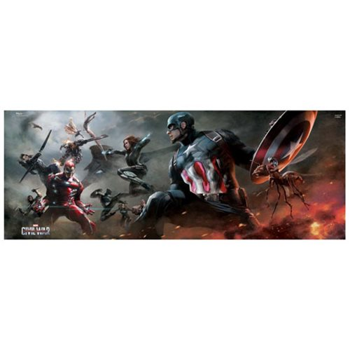 Captain America: Civil War Divided MightyPrint Wall Art Print