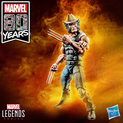 X-Men Marvel Legends 6-Inch Cowboy Logan Action Figure - Exclusive