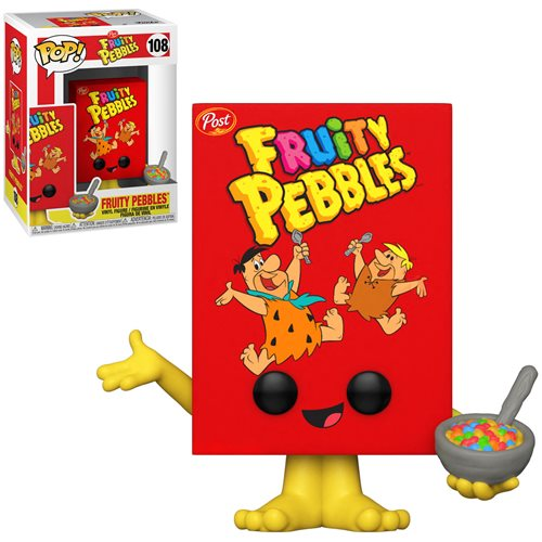Post Fruity Pebbles Cereal Box Pop! Vinyl Figure