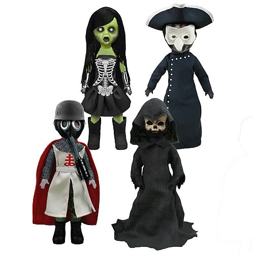 Living Dead Dolls Four Horsemen of the Apocalypse Case