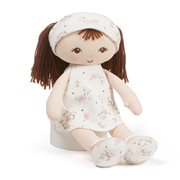 Little Me Brunette Doll Plush