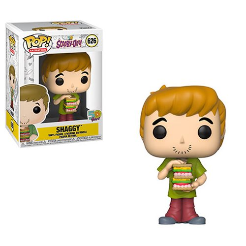 Scooby Doo Shaggy with Sandwich Pop! Vinyl Figure, Not Mint