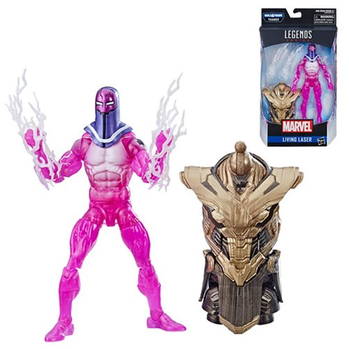 Avengers Marvel Legends 6-Inch Living Laser Action Figure