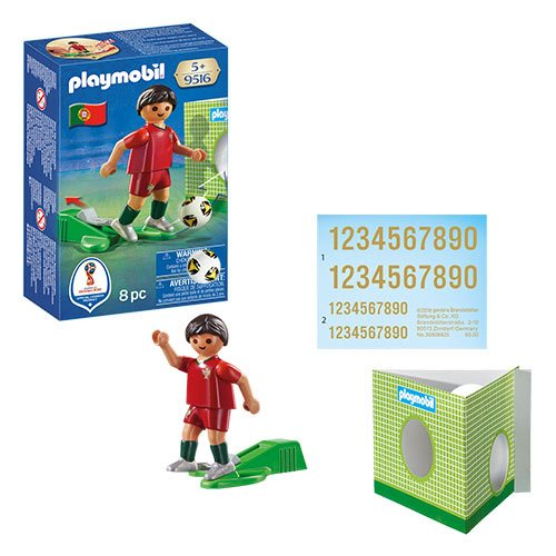 Playmobil 9516 Soccer National Team Player Portugal Action Figure